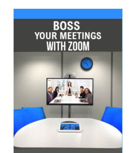 Boss your meetings with Zoom