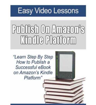 Publish On Amazon's Kindle Platform